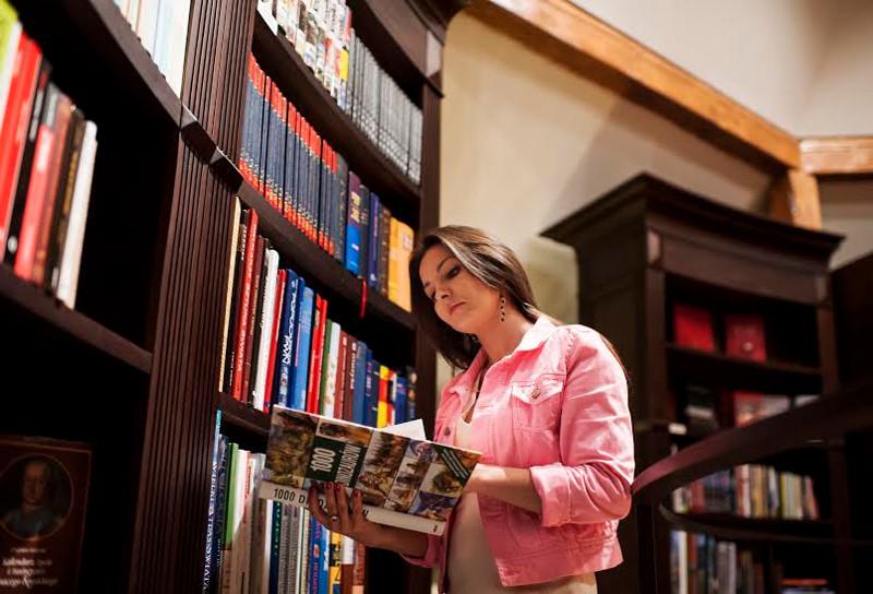 biblioteka w hotelu krasicki
