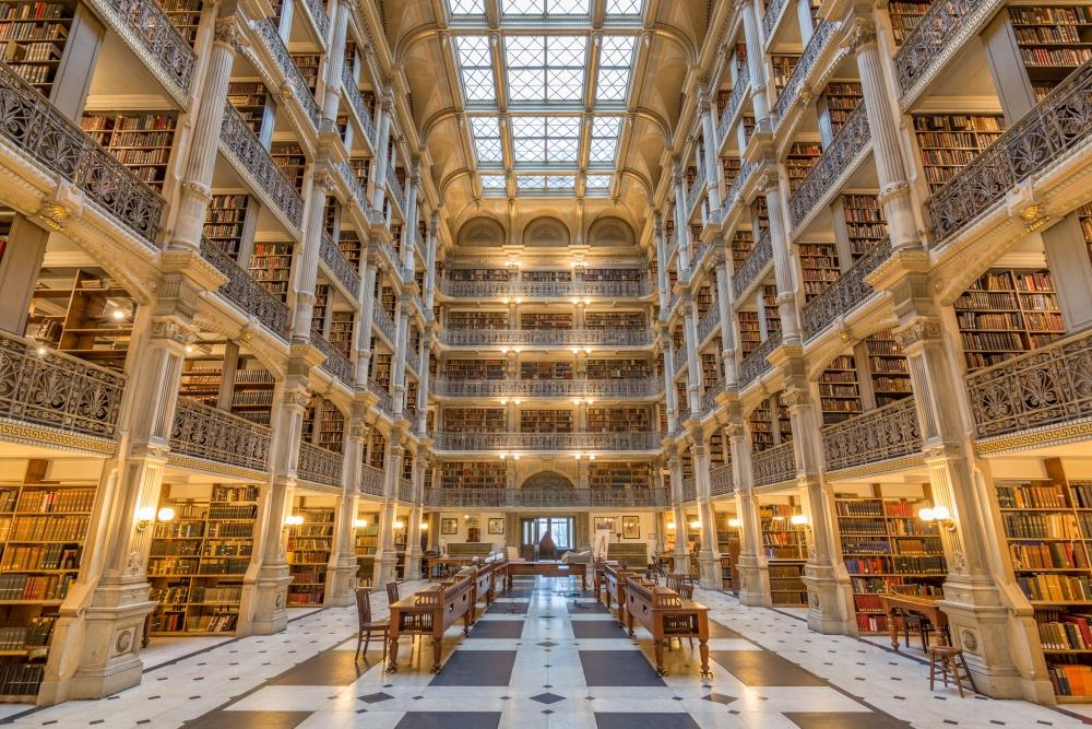 Biblioteka-Georgea-Peabodyego