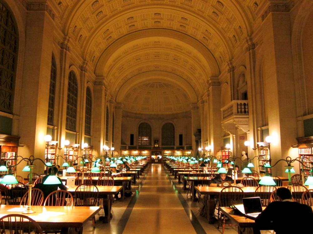 Biblioteka-Publiczna-Boston