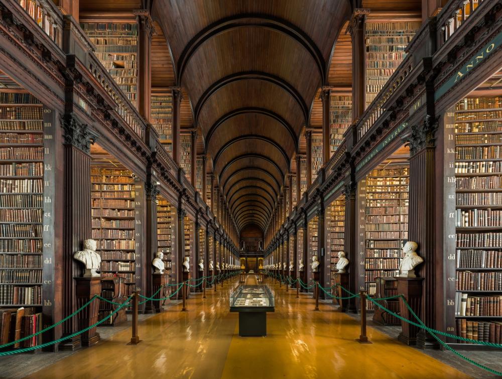 Biblioteka-Trinity-College